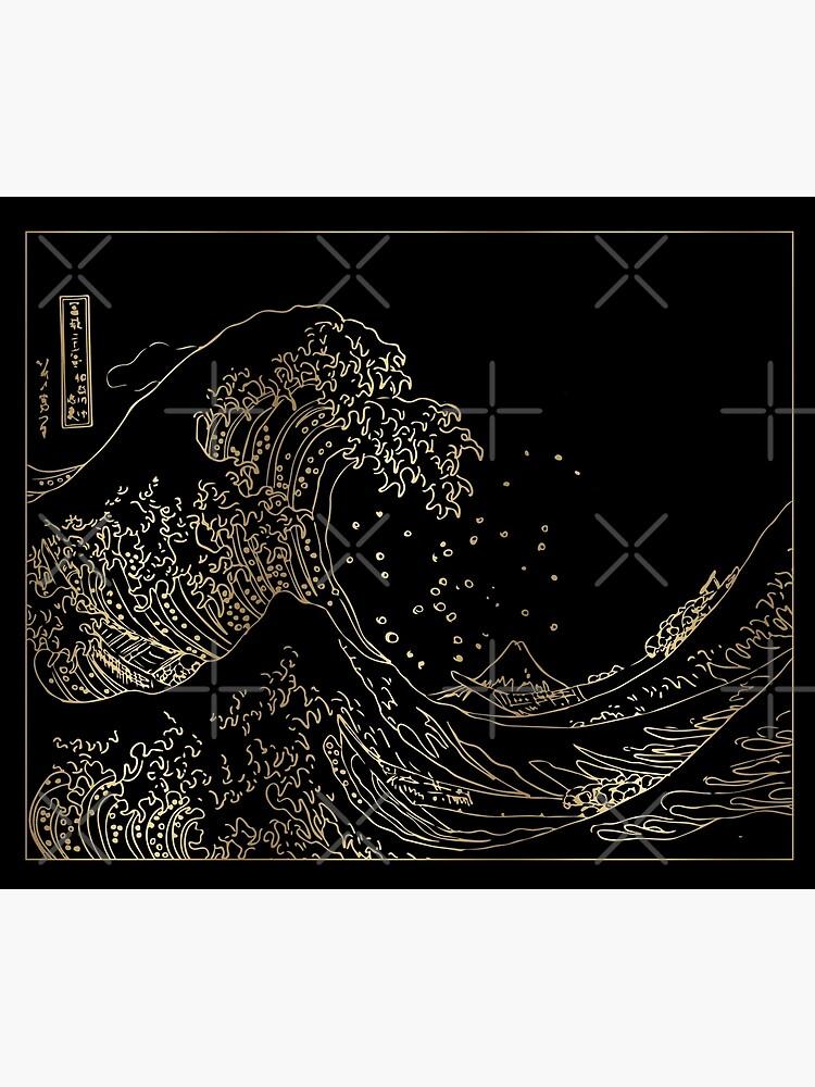 Great Wave Gold by alexvoss