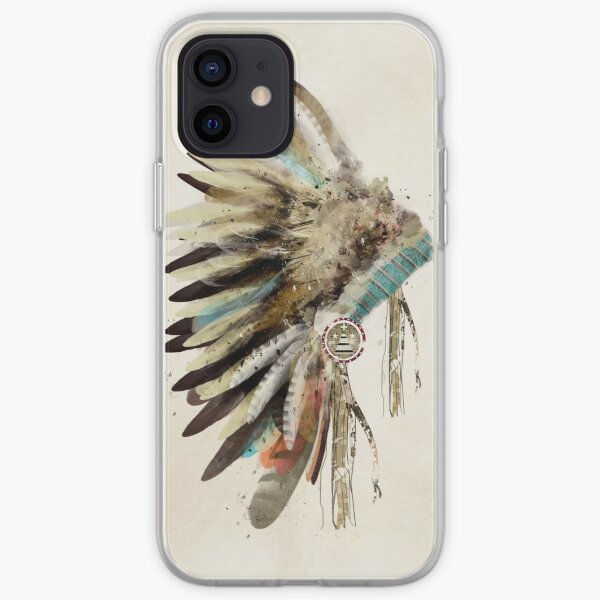 headdress iPhone Soft Case