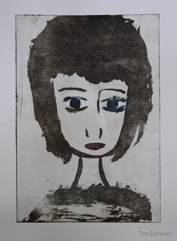 Doll Face 2 by Tara Bateman