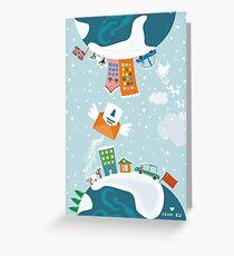 merry xmas 7 Greeting Card