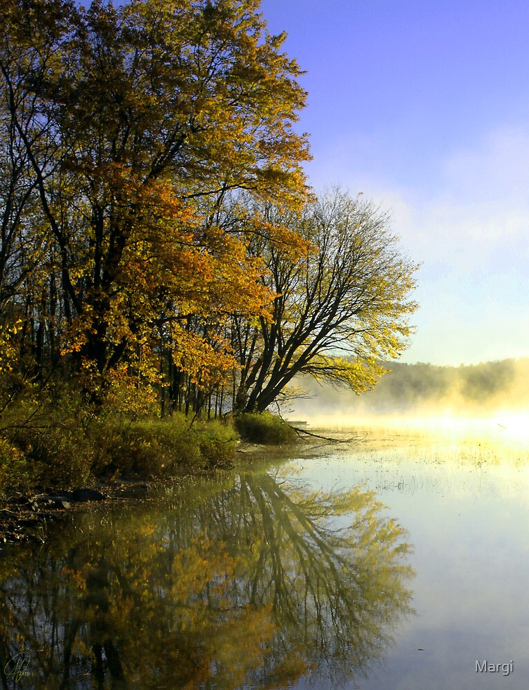 Fox Lake Revisited by Margi