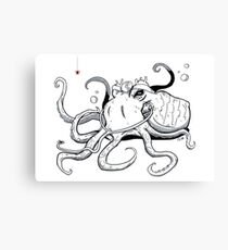 Octopus Doctor Canvas Print
