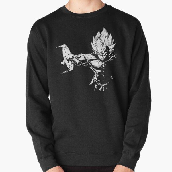 Vegeta Hardcore Squat - Leg Day Motivational Pullover Sweatshirt