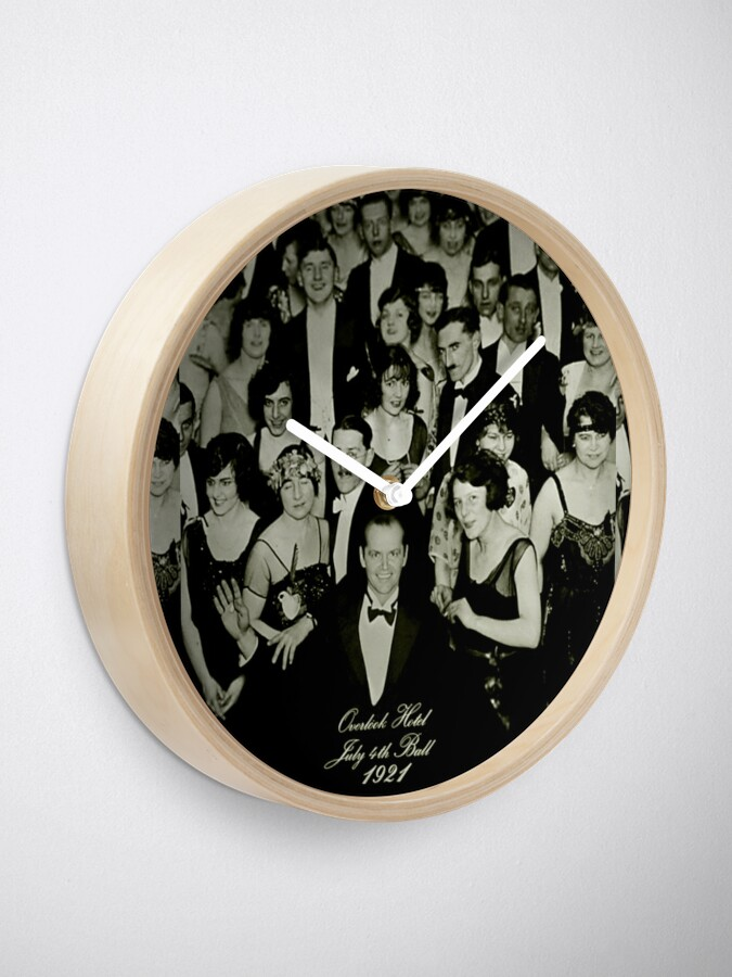 Alternate view of July 4th, 1921 Clock