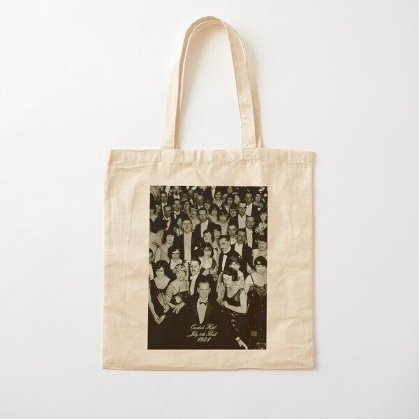July 4th, 1921 Cotton Tote Bag