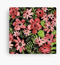 Floral Toss Canvas Print