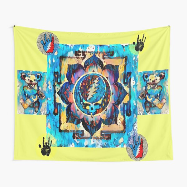 Dripping Yantra Tapestry