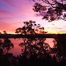 Wallagoot Lake Sunset by EnviroKey