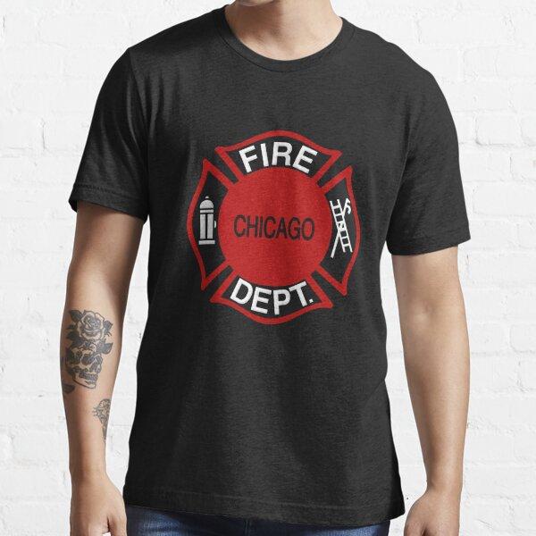 Departamento de Bomberos de Chicago CFD Camiseta esencial