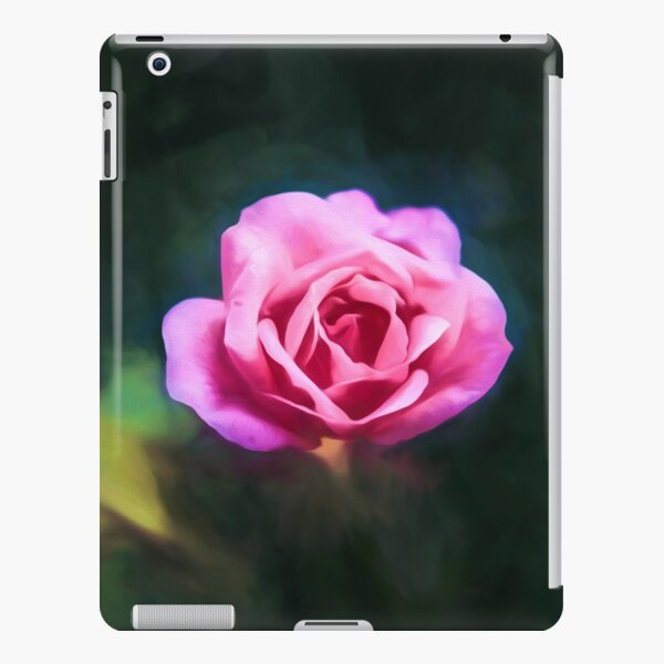 Pink Rose (digital painting) iPad Snap Case