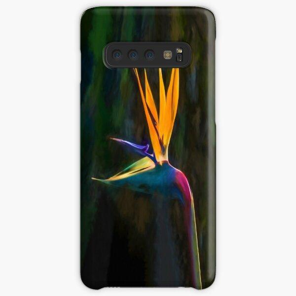 Bird of Paradise Flower (digital painting) Samsung Galaxy Snap Case