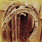Old Horseshoes - Sepia by EdsMum