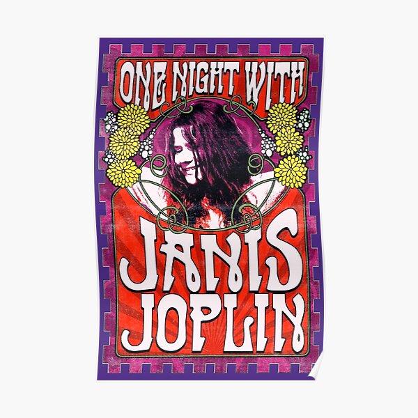 Une nuit avec Janis Joplin Poster