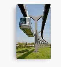 Skytrain, Düsseldorf International Airport, Germany. Canvas Print