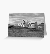 WWII British RAF Spitfire Greeting Card