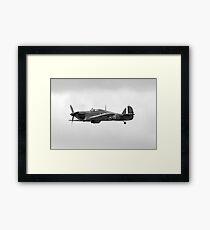 WW2 RAF Hurricane Fighter Plane Framed Print