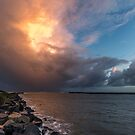 Glowing Storm Clouds by robcaddy