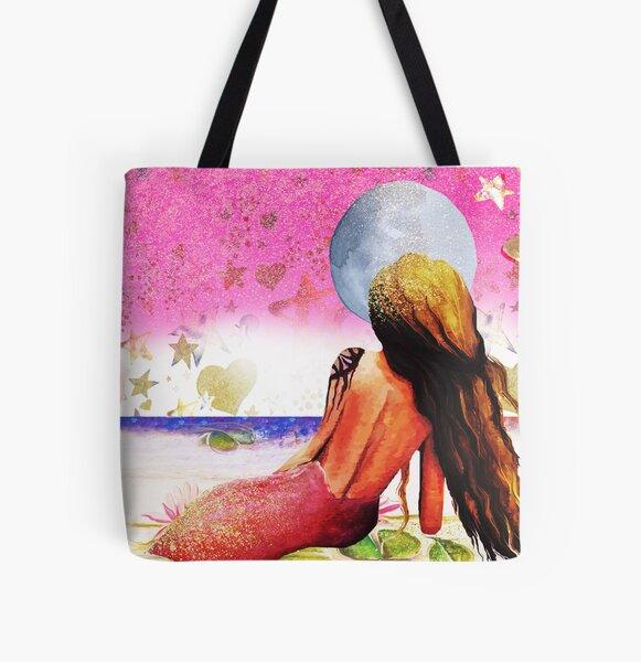 Samaya  All Over Print Tote Bag
