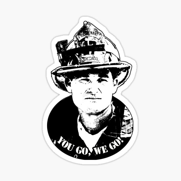 You Go, We Go - Backdraft - Bull Sticker