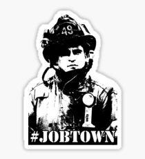 Job Town - Ladder 49  Sticker