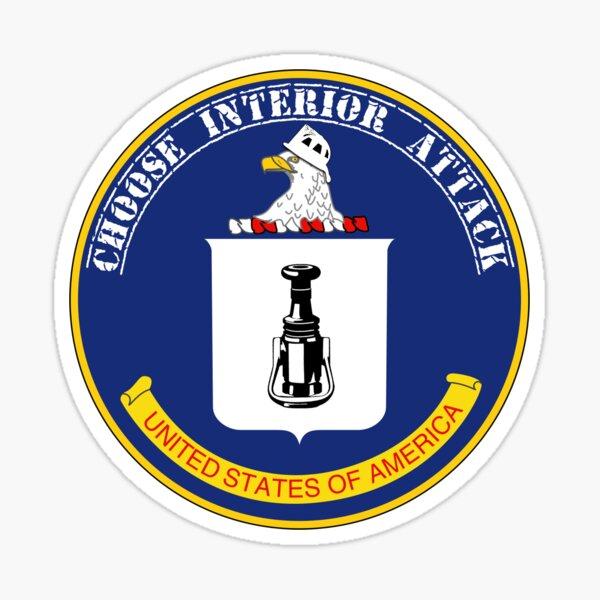 CIA - Choose Interior Attack Sticker