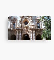 Fine sculpture Canvas Print