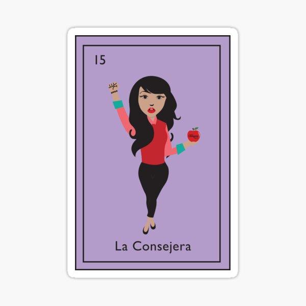 La Consejera 15 Sticker