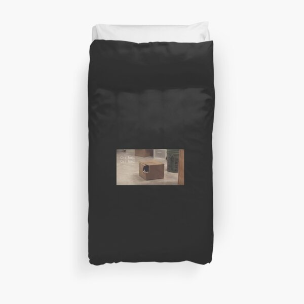 Cat Box  Duvet Cover