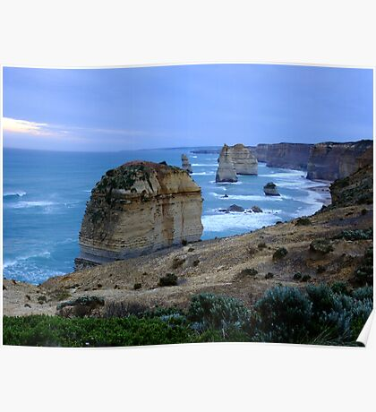 12 Apostles at First Light - Great Ocean Road, Victoria Poster