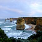 Apostles at Sun Rise - Great Ocean Road, Victoria by Karen Stackpole