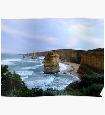 Apostles at Sun Rise - Great Ocean Road, Victoria Poster