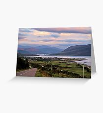 Ullapool upon Dusk Greeting Card