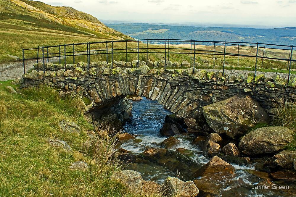The Old Packhorse Bridge... by Jamie  Green