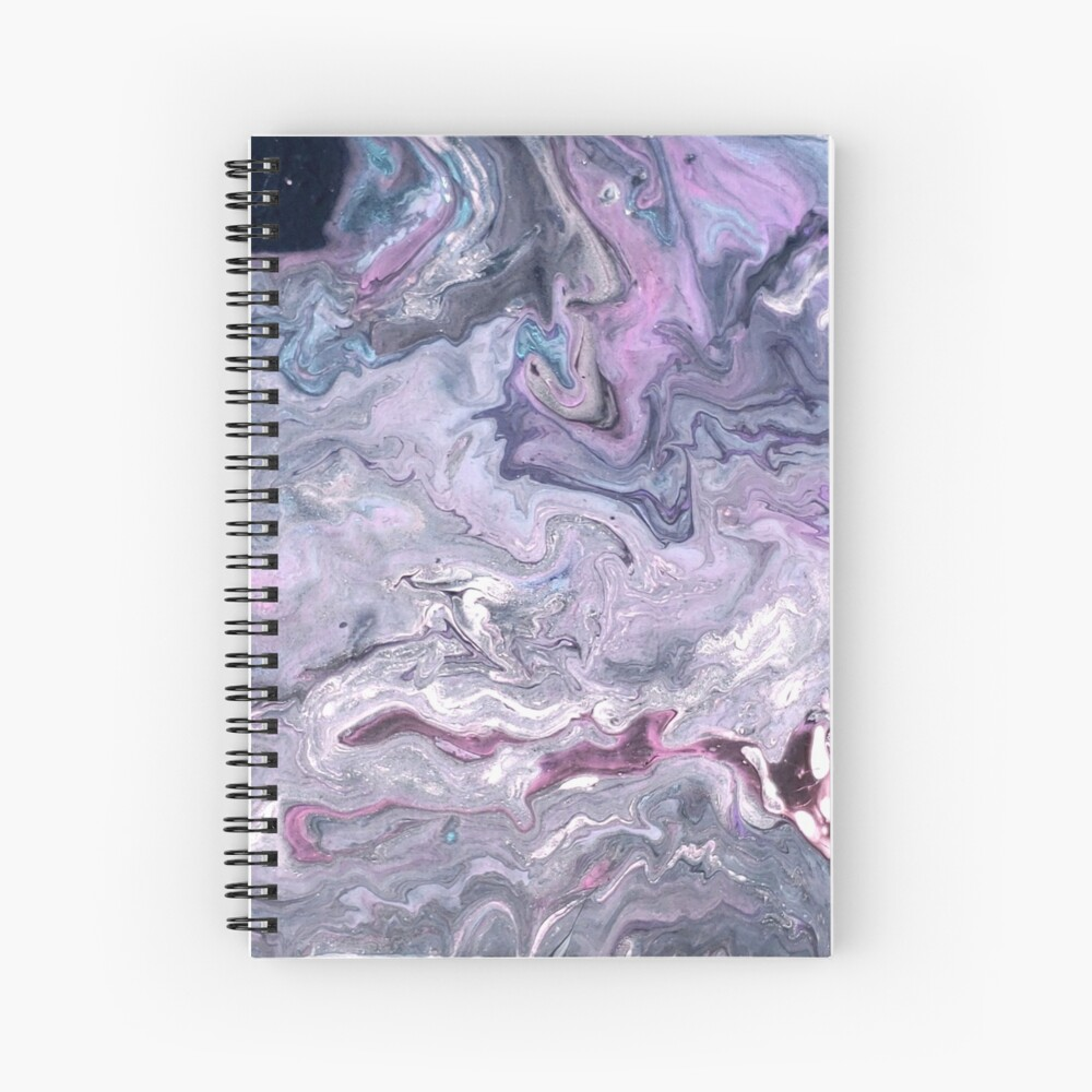 Purple Passion Spiral Notebook