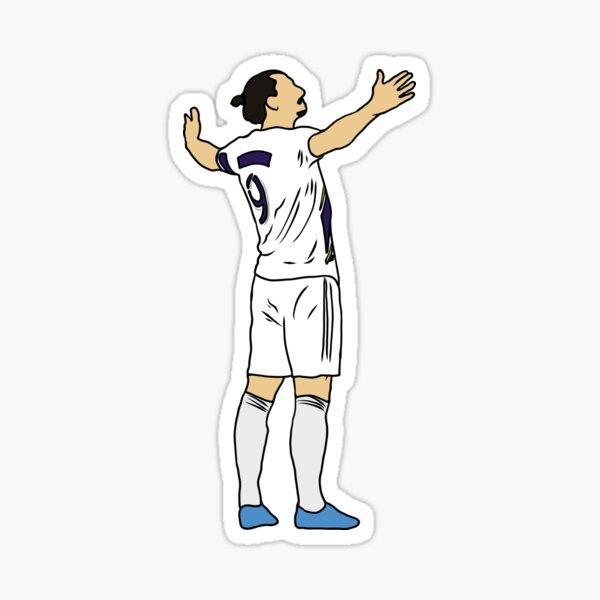 Zlatan Ibrahimovic Feier Sticker