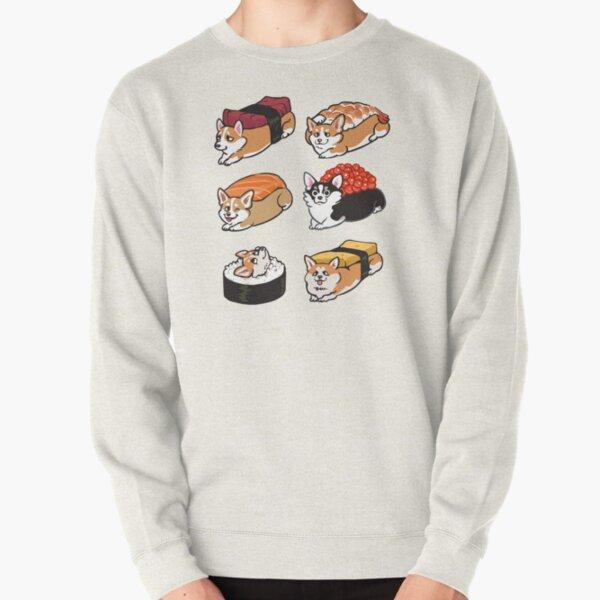 Sushi Corgi Sudadera sin capucha