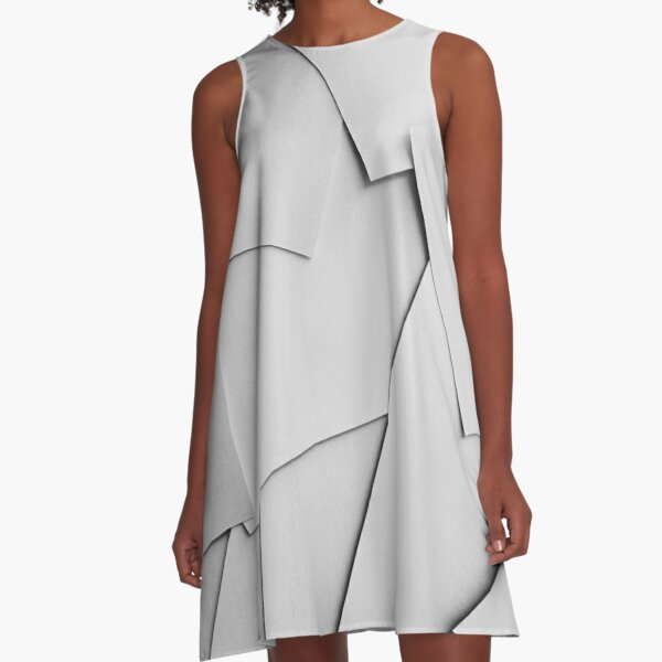 Sheets of Paper A-Line Dress