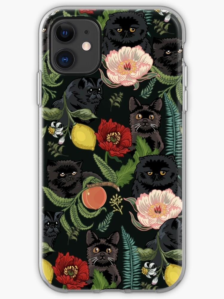 Swedish Folk Cats iPhone 11 case