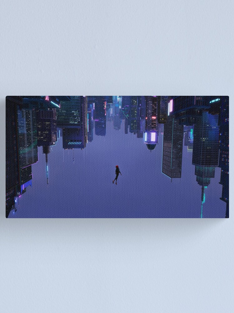 Alternate view of Not Falling, But Rising Canvas Print
