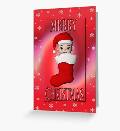 Cute Christmas Card Greeting Card