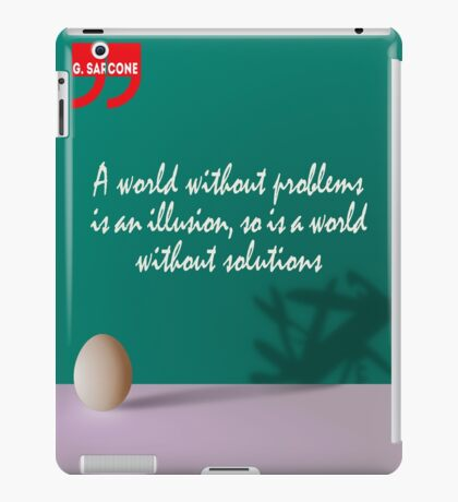 A World Without... (Quotation) iPad Case/Skin
