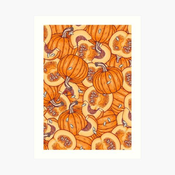 pumpkin dream Art Print