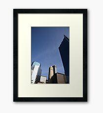 Minneapolis Skyscrapers Framed Print