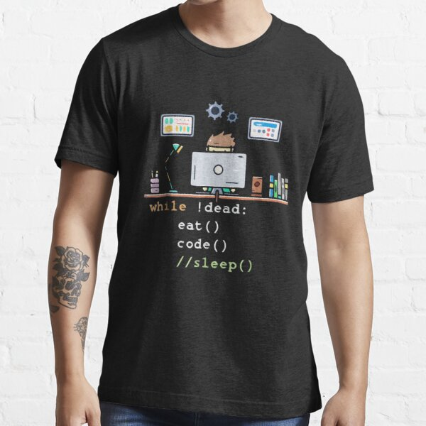 Science Programmer Eat Code Sleep Essential T-Shirt