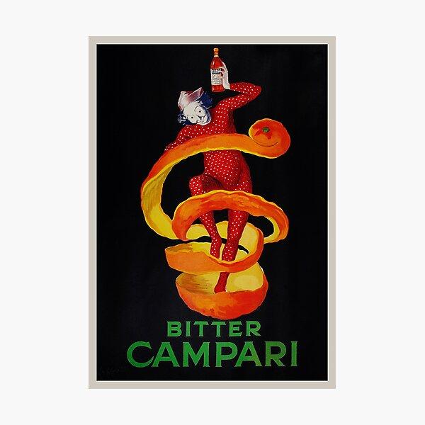 Vintage Cappiello Alcohol Advertising 1921 Photographic Print
