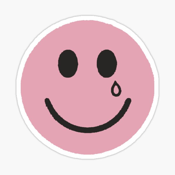 happy and sad Sticker