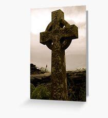 Cross of Tal-y-Llyn Greeting Card