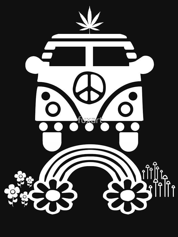 Hippie - Peace - Hanf - Generation von fuxart