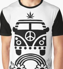 Hippie - Peace - Hanf - Generation - II Grafik T-Shirt