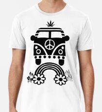 Hippie - Peace - Hanf - Generation - II Premium T-Shirt